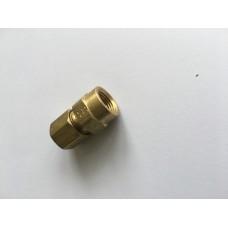Brass compression female 1/8npt