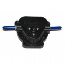 Push fit pump head