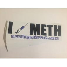 I inject METH sticker