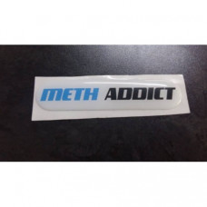 Meth Addict dome stickers