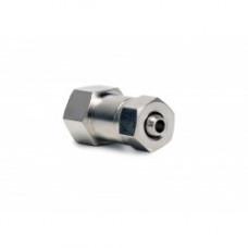 Compression straight nozzle holder