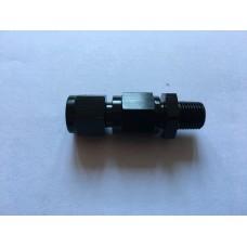 Straight solenoid nozzle holder