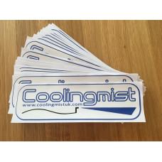 Coolingmist sticker